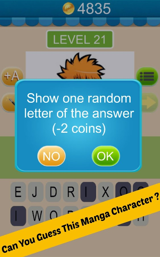 Anime Character Quiz App Answers : Guess anime manga character android apps on google play