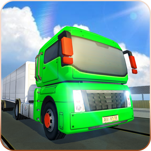 Euro Truck Simulator: Cargo Delivery Truck Parking