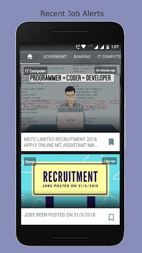 Government Jobs India Latest Naukri Alert App Apk Free