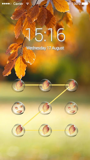 玩免費天氣APP|下載Applock Theme Autumn Aoliage app不用錢|硬是要APP