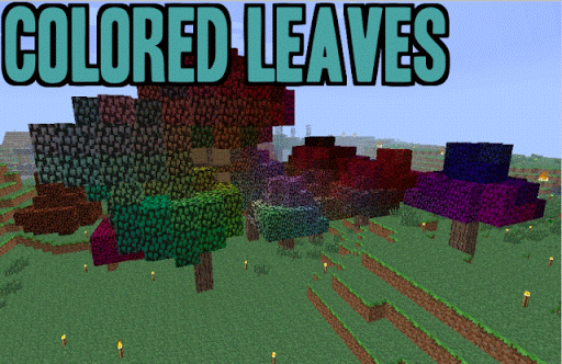 Colored Leaves Mod Installer
