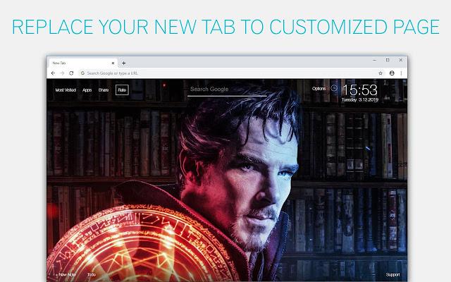 Marvel Doctor Strange Wallpaper HD Doctor Strange New Tab