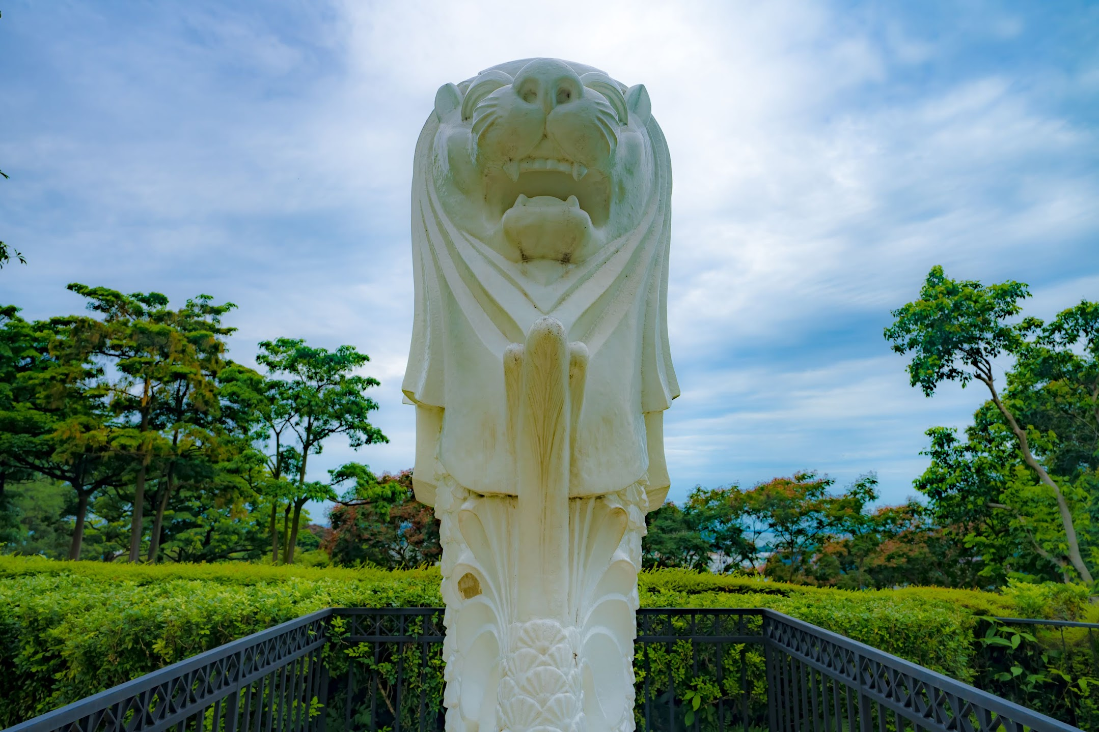 Singapore Mount Faber Merlion2
