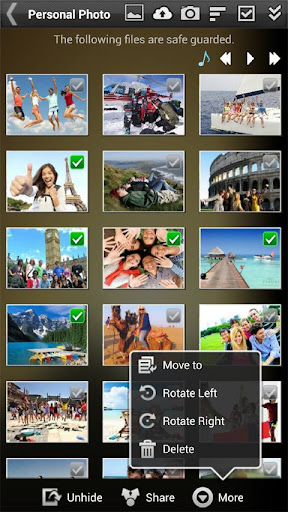 Gallery Lock Pro(Hide picture)  screenshots 4