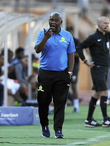Mamelodi Sundowns head coach Pitso Mosimane.