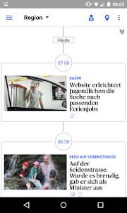 az Badener Tagblatt News screenshot 2