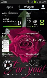 Pink Rainy Rose LWP screenshot 2