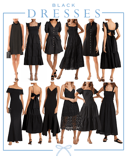 HOW TO STYLE A BLACK DRESS FOR EVERY OCCASION