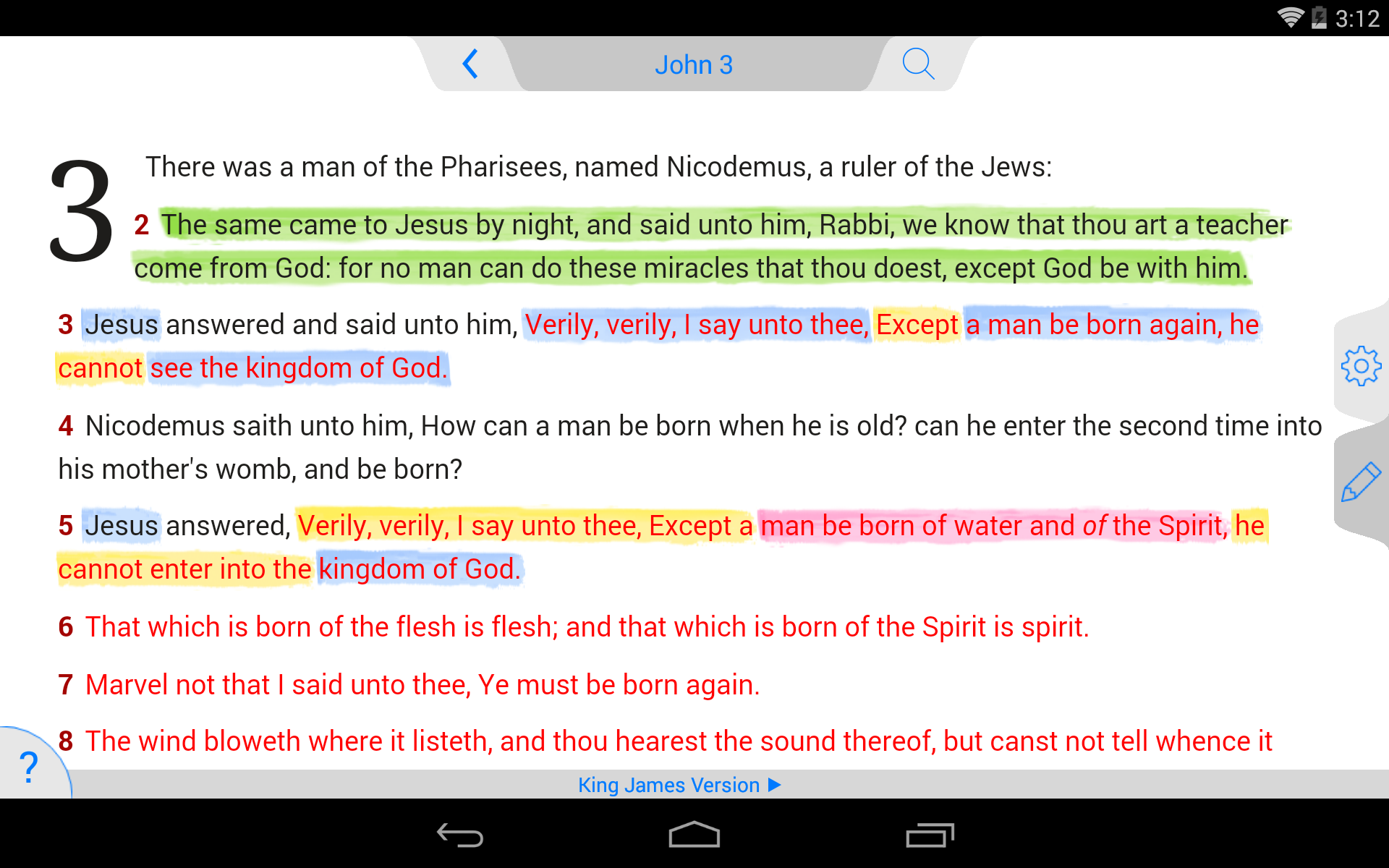 New American Standard Bible screenshot #17