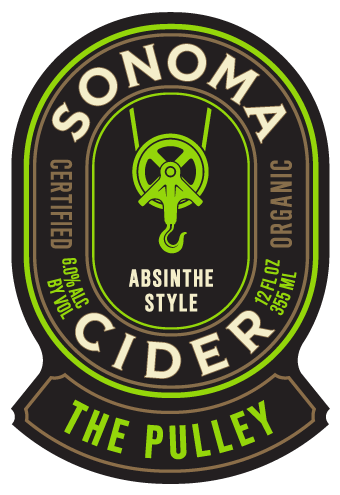Logo of Sonoma Cider The Pulley - Absinthe Style Cider