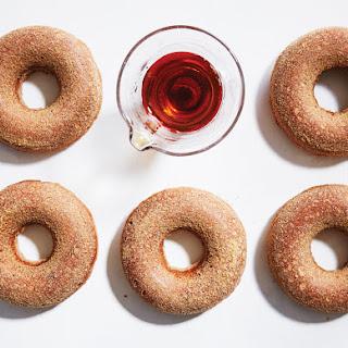 Maple-Cider Oven Doughnuts