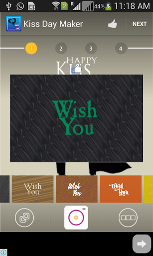 Kiss Day Greeting Cards