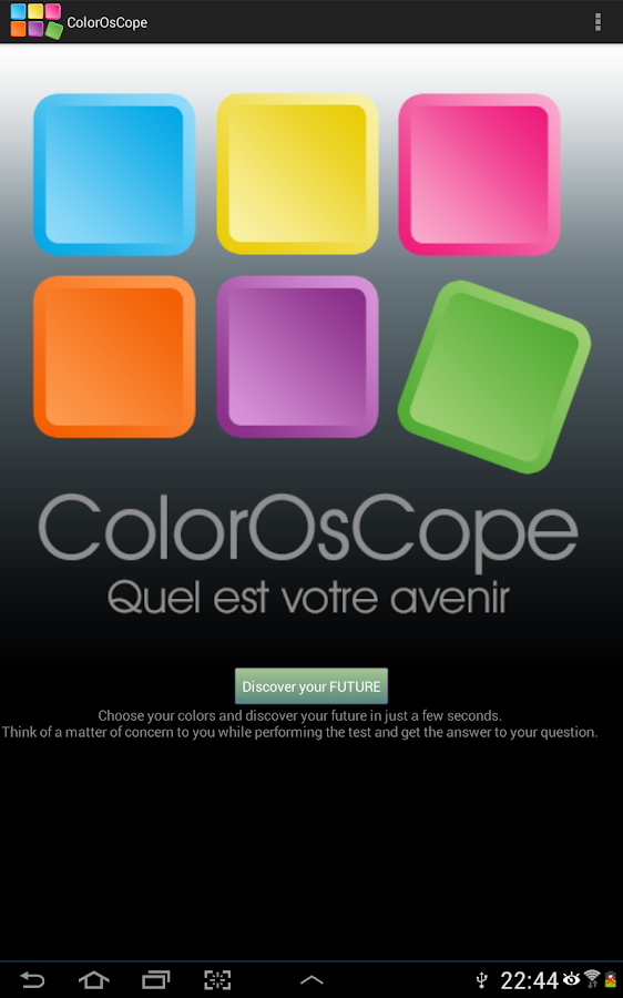 Color Horoscope- screenshot