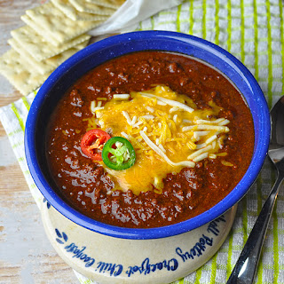 Competition-Style Texas Chili.