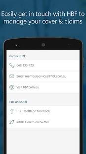 HBF Health - náhled