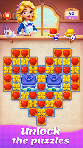 Candy Sweet Legend - Match 3 Puzzle 3.3.5009 screenshots 1