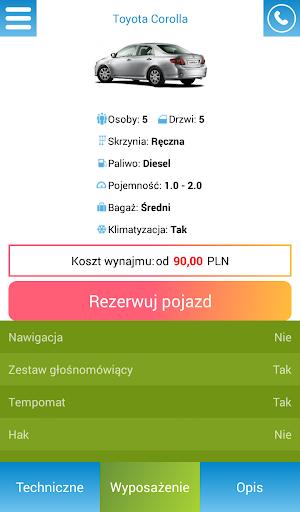 Wypou017cyczalnia samochodu00f3w  screenshots 4