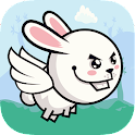 Bunny Fly : Mangia le carote icon