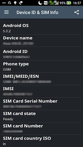 Device ID & SIM Info screenshot 2