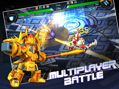 Herobots - Build  to Battle- screenshot thumbnail