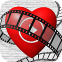 Valentine's Day Video Maker - Love Photo Frames icon