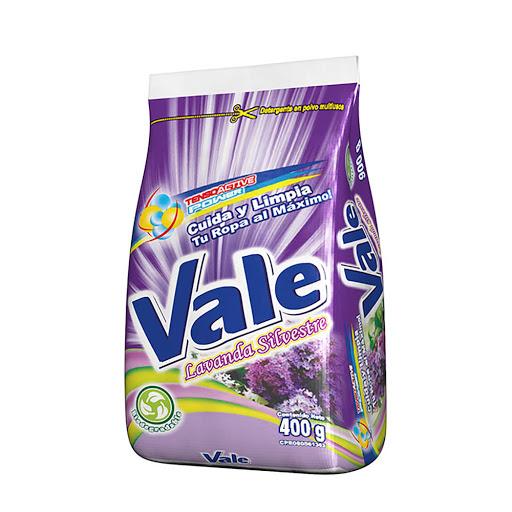 detergente en polvo vale lavanda 400gr