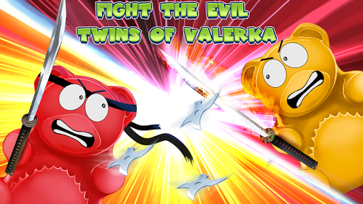 Jelly Ninja: Bear Valerka Games (apk) free download for Android/PC/Windows screenshot