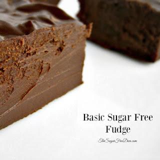 Basic Sugar Free Fudge.