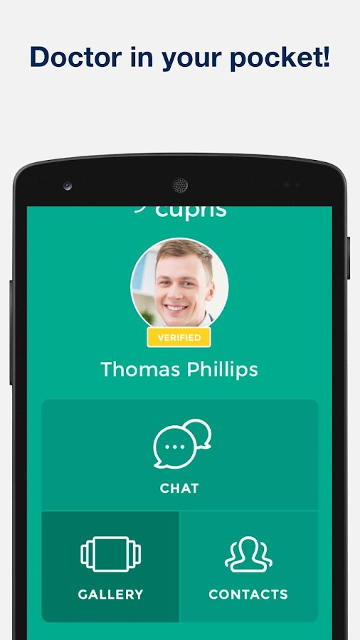 Cupris Health- screenshot