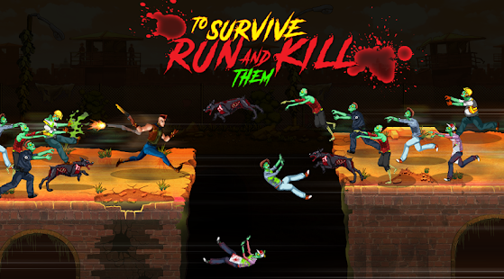Super Awesome Hyper Freakin Zombie Run Screenshot