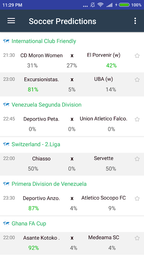 Azscore - Mobile Livescore App, Soccer Predictions- screenshot