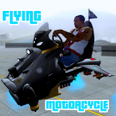 Flying Motorcycle Simulation