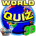 World countries Quiz 3D