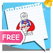 Coloring Kids my Superheros