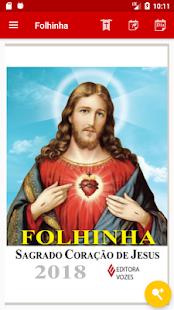 Folhinha do Sagrado Coração de Jesus - náhled