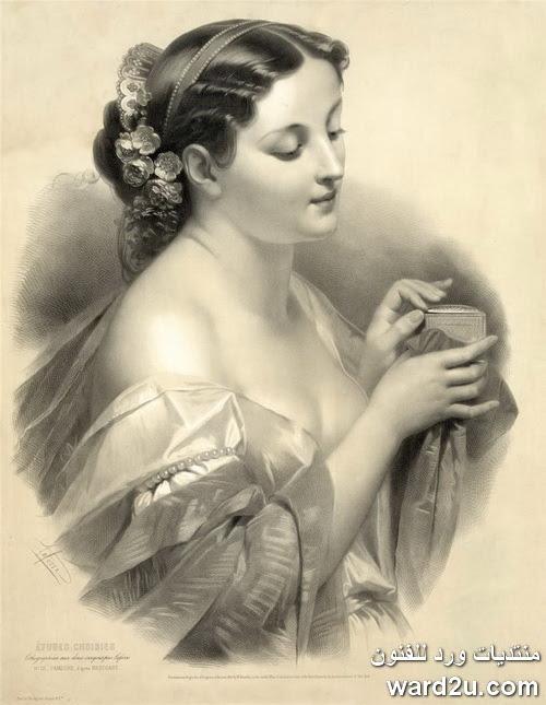 بورتريهات رائعه من اعمال الفنانه Josephine Ducollet