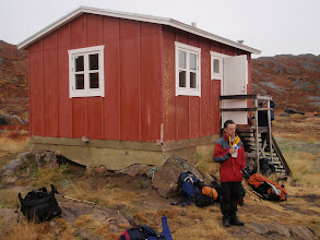 Photo: Greenland - Hut at the end of Day 4