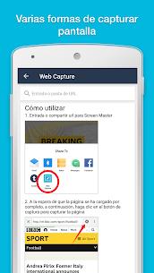 ScreenMaster aquí: pantallazo & nota, corte, edición 2
