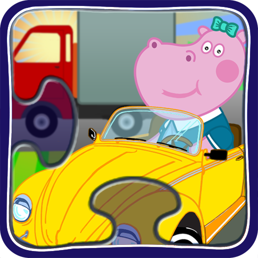 Baby Puzzles: Cars and Trucks 解謎 App LOGO-硬是要APP