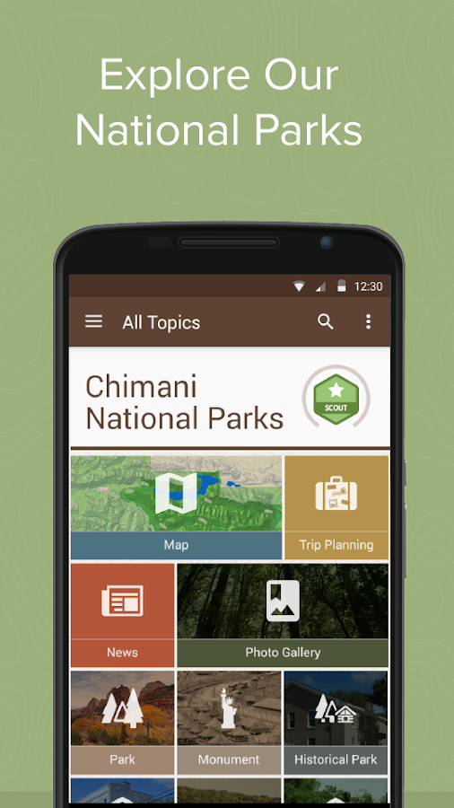 Chimani National Parks- screenshot