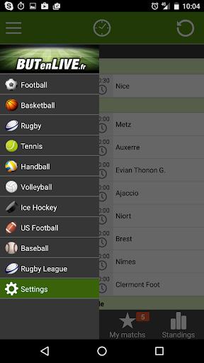 Livescore - BUTenLIVE 1.0.4 screenshots 1