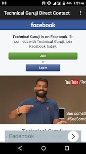 App Technical Guruji Contact APK for Windows Phone
