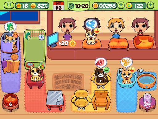 My Virtual Pet Shop - Cute Animal Care Game 1.10 screenshots 10
