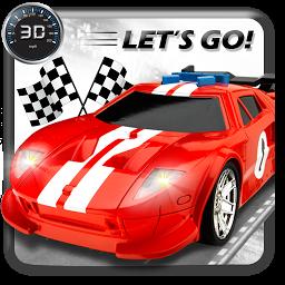 高速道車レース3D-ナイトロ