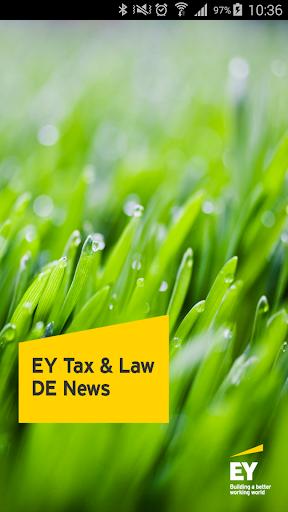 EY Tax Law DE News