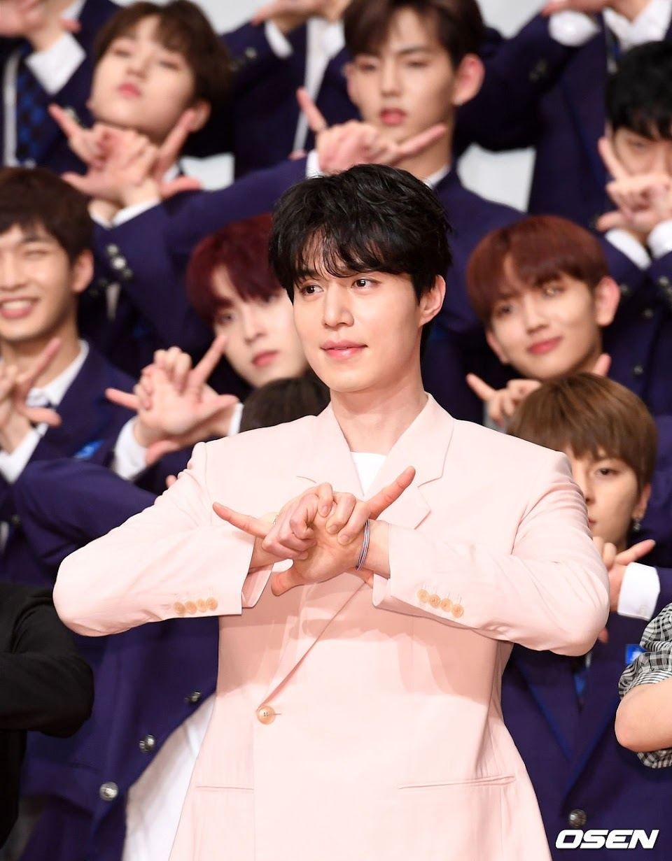 lee dong wook produce x 101 1