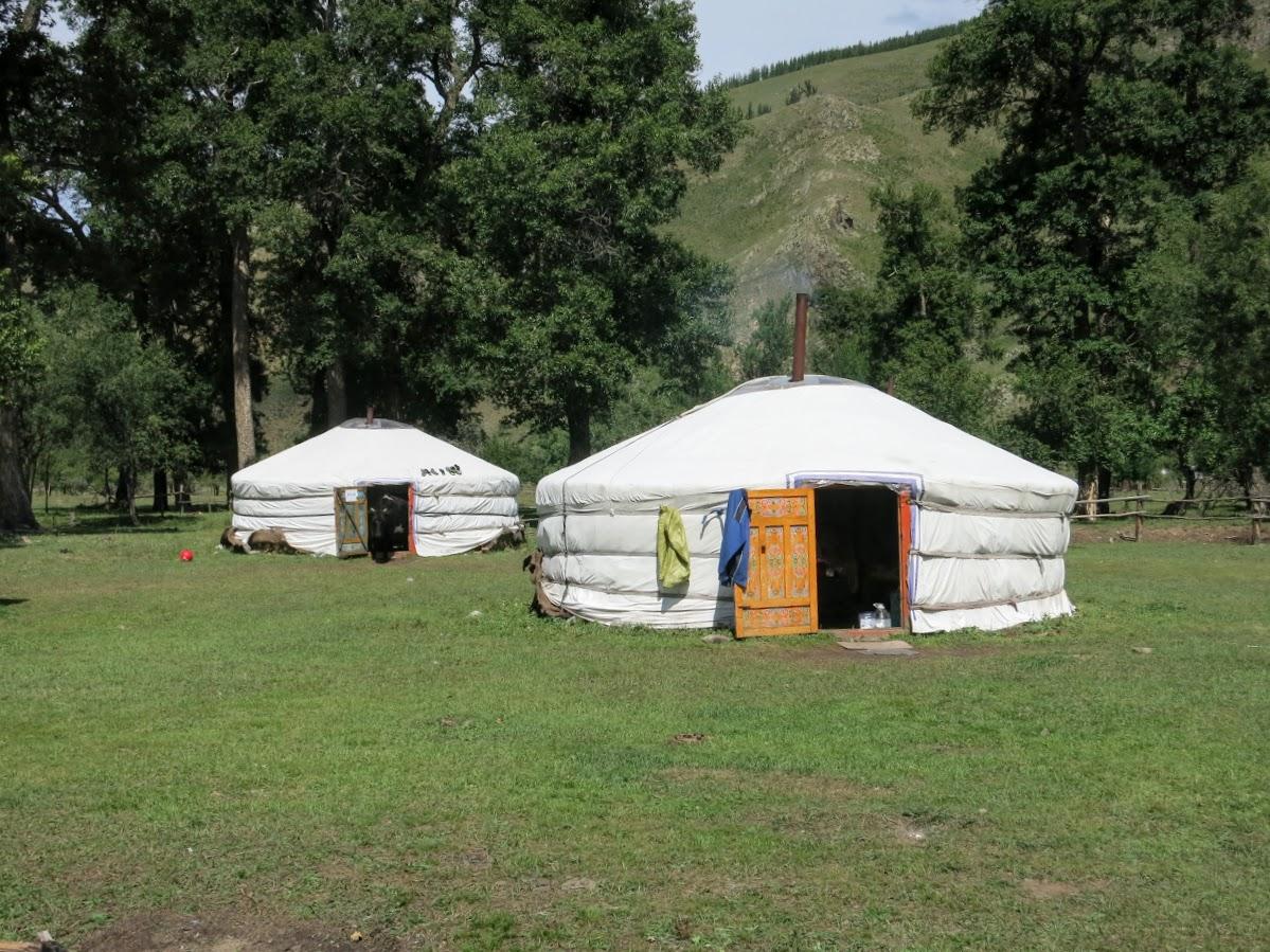 Ger in Gorkhi Terelj National Park