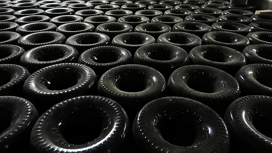 In the Botttom of a bootle by Ana Paula Filipe - Abstract Patterns ( wine, dark, bottom, bottle, black )