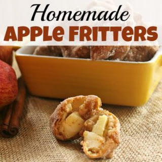 Homemade Apple Fritters