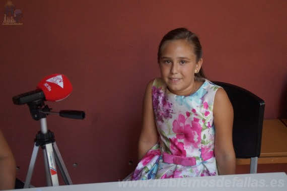 Entrevistas a Candidatas infantiles a Cortes de Honor. Camins al Grau. #Elecció19